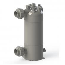 Torpedo - 3 to 10 Ton Titanium & PVC Chiller Barrel Heat Exchanger (DX)