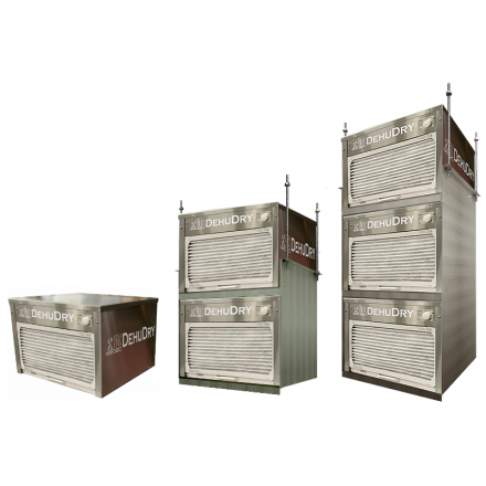 DehuDRY - Large Capacity Stand-alone Dehumidifiers